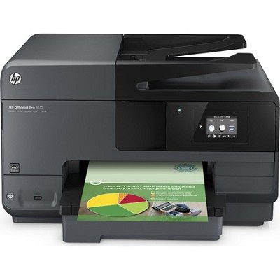 Officejet Pro 8610 e-All-in-One Wireless Color Printer - OPEN BOX