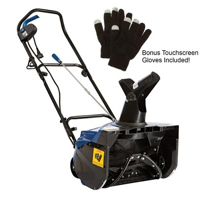 Ultra 15 AMP Electric Snow Thrower with Bonus Touchscreen Gloves