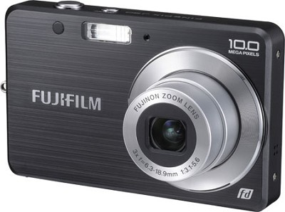 FinePix J20 10 MP Digital Camera (Black)