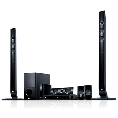 LHB976 - 3D Wifi Blu Ray Home Theater System with Wireless Speakers