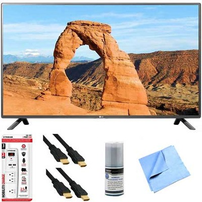 50LF6000 - 50-Inch Full HD 1080p 120Hz LED HDTV Plus Hook-Up Bundle