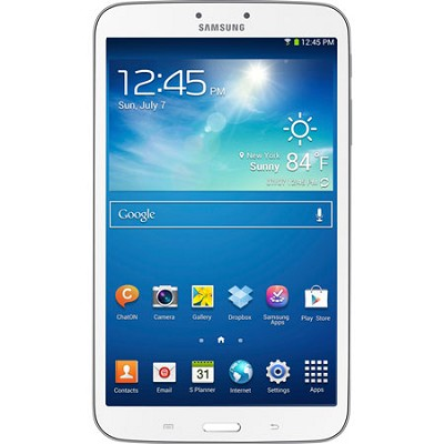 Galaxy Tab 3 (8-Inch, White) - OPEN BOX