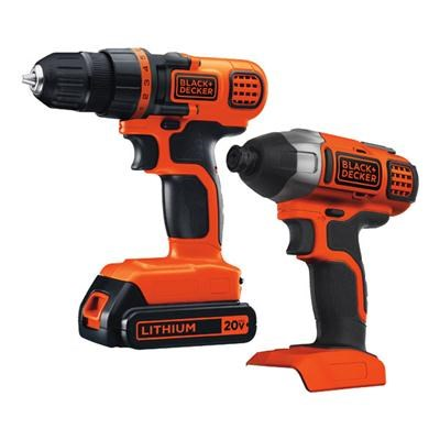 20V MAX Drill/Driver Impact Combo Kit - BD2KITCDDI