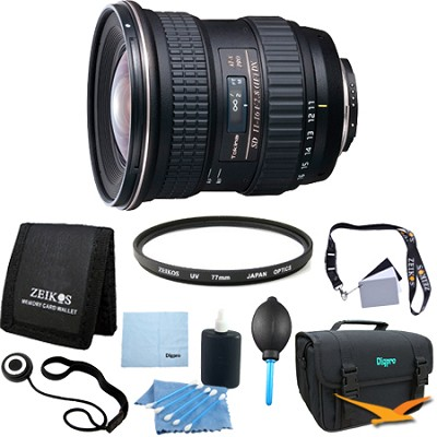 AT-X 116 Pro DX AF 11-16mm f/2.8 Lens For Nikon - Lens Kit Bundle