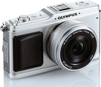 E-P1 Micro Four Thirds SLR Camera Body Only (Silver)