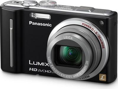 LUMIX 12.1 MP Digital Camera with 16x Intelligent Zoom (Black) - REFURBISHED