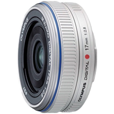 M.Zuiko 17mm f/2.8 Lens Wide-angle Pancake Lens (Silver) - 261502