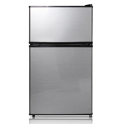 3.1 Cubic Feet Reversible Door Refrigerator in Stainless Steel - WHD-113FSS1