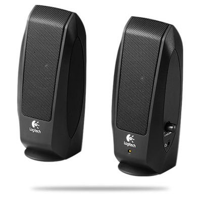 S-120 Speaker System-Speaker System in Black with Headphone Jack - 980-000012