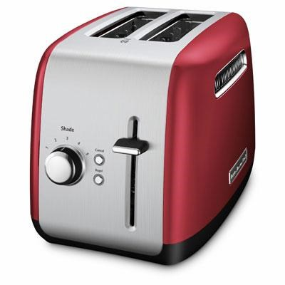 2-Slice Toaster with Manual Lift Lever in Empire Red - KMT2115ER
