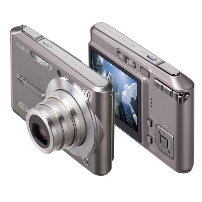 Exilim EX-S500 SUPER Slim Digital Camera (Graphite Gray)