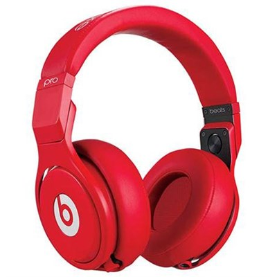 Pro Over-Ear Studio Headphones - Lil Wayne Red - OPEN BOX