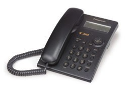 KX-TSC11B 1 Line Corded Telephone with Call Waiting Caller ID