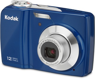 EasyShare C182 12MP 3.0 inch LCD Digital Camera - Blue