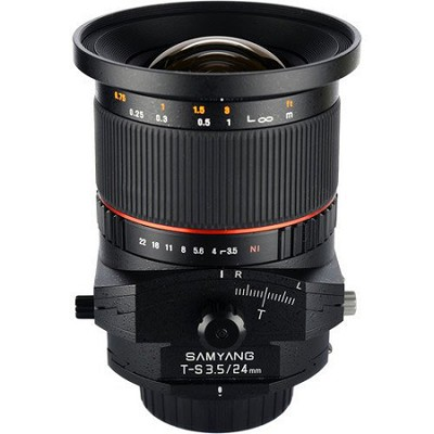 24mm F3.5 Tilt Shift Lens for Nikon