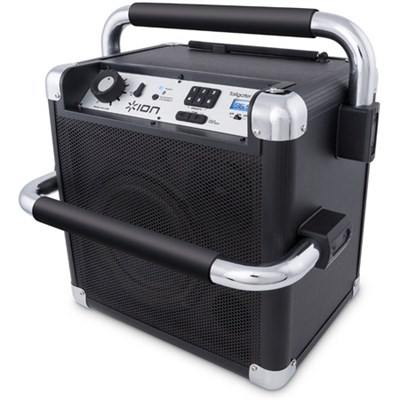 Job Rocker Heavy-Duty Wireless Bluetooth Sound System - Black Refurbished