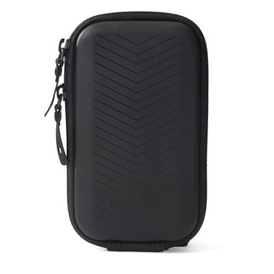 Sleek Video Camera Pouch (Matte Black) Fits Flip Video