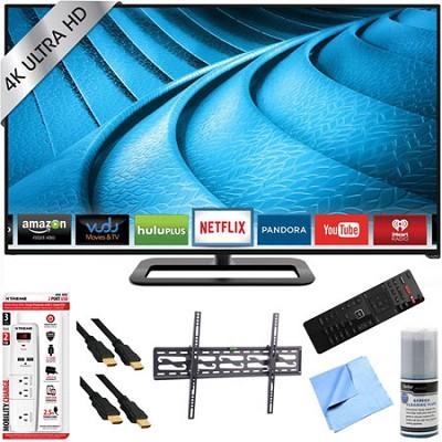 P652ui-B2 - 65` 2160p 240Hz UHD 4K LED Smart TV Plus Tilt Mount & Hook-Up Bundle