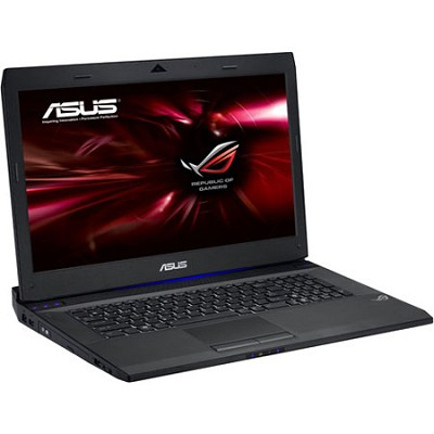 G74SX-DH72 17.3 inch  Gaming Notebook PC  With Intel i7-2670QM - Black