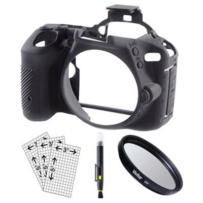 Nikon D5500/D5600 Silicone Protection Cover Kit (Black)
