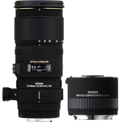 70-200mm f/2.8 APO EX DG HSM OS FLD Zoom Lens for Nikon DSLR+Teleconverter