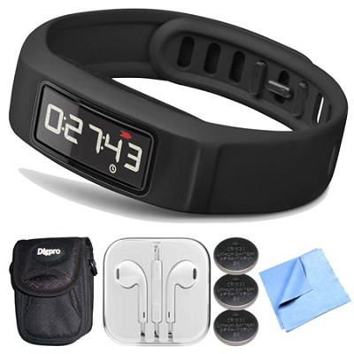 Vivofit 2 Bluetooth Fitness Band (Black)(010-01503-00) Bundle