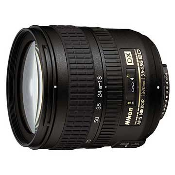 18-70mm F/3.5-4.5G ED-IF AF-S DX Zoom USA Lens, Refurbished