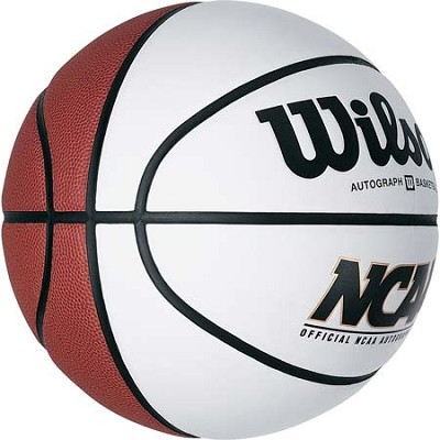 NCAA Official Size Autograph Basketball
