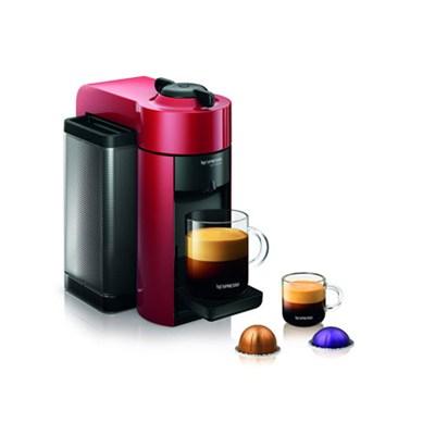 Vertuoline Evolu GCC1 Espresso Maker/Coffee Maker Cherry Red