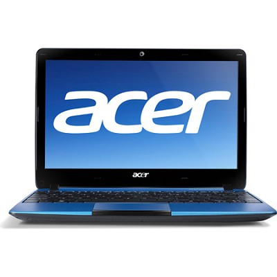 Aspire One AO722-0667 11.6` Netbook PC (Blue) - AMD Dual-Core C-60 Accel. Proc.