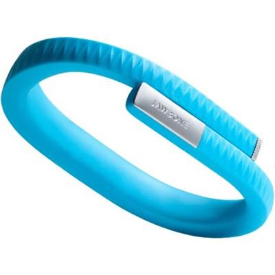 UP by Jawbone - Medium Wristband - Retail Packaging - Blue - OPEN BOX