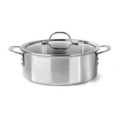 5-qt. Tri-Ply Stainless Steel Dutch Oven with Cover - 1818095
