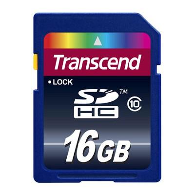 16 GB Secure Digital High-Capacity (SDHC) Class 10  {TS16GSDHC10}