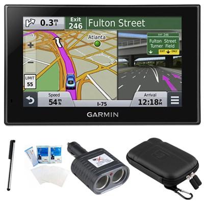 nuvi 2539LMT Advanced Series 5` GPS Navigation System with Lifetime Maps Bundle