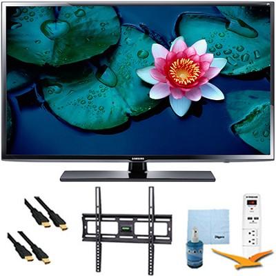 UN32H5203 - 32` Full HD 1080p 60Hz Smart TV Plus Mount & Hook-Up Bundle