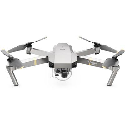 Mavic Pro Platinum Quadcopter Drone with 4K Camera and Wi-Fi (OPEN BOX)