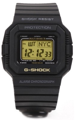 Men's G-Shock 25th ANN Multi-band 5 blk Mudman Watch