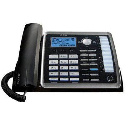 2 Line Speakerphone System PLUS a 3rd line dedicated to your cell phone