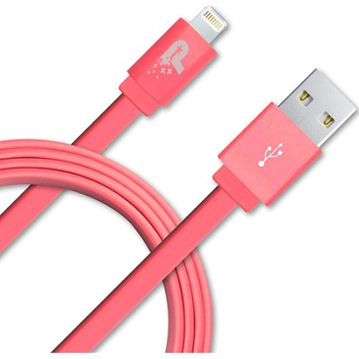 3.3 ft. Flat Lightning Cable - Pink (PCALC3FTFPK)
