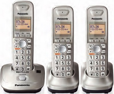KX-TG4013N DECT 6.0 Plus Expandable Digital Cordless Phone