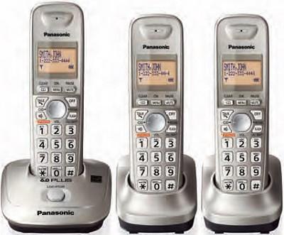 KX-TG4013N DECT 6.0 Plus Expandable Digital Cordless Phone
