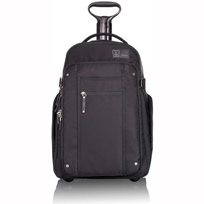T-Tech By Tumi Icon Jerry Wheeled Backpack (Black)(57572)