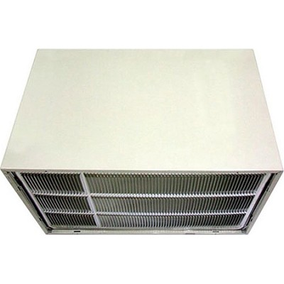 26` Wall Sleeve & Stamped Aluminum Rear Grille for Through-the-Wall AC OPEN BOX