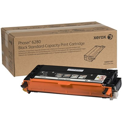 Black Standard Capacity Print Cartridge for Phaser 6280 - 106R01391