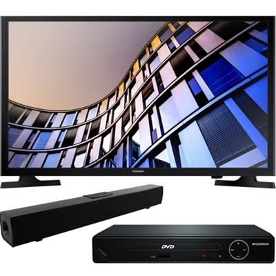32` 720p Smart LED TV (2017) + HDMI DVD Player + Bluetooth Sound Bar