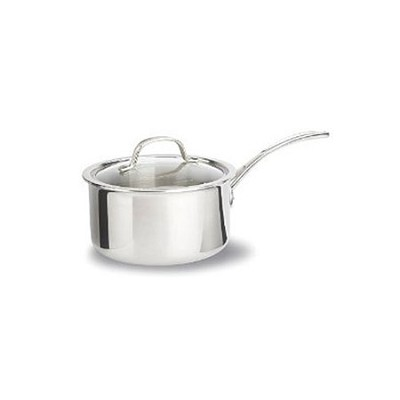 2.5-qt. Tri-Ply Stainless Steel Sauce Pan and Cover - 1767982