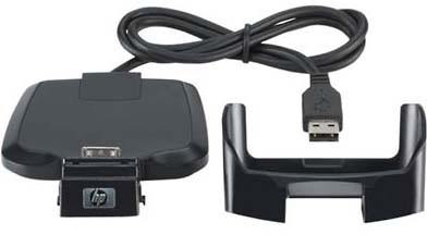 USB Cradle for iPAQ h2000, rz1700, rx3000, hx4700 Series
