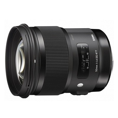 50mm f/1.4 DG HSM Lens for Sony A Cameras