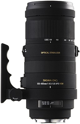 AF 120-400mm F/4.5-5.6 APO DG Optical Stabilizer HSM for Nikon