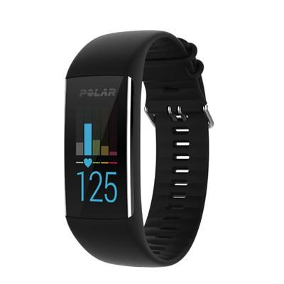 A370 Fitness Tracker with 24/7 Wrist Based HR Black M/L (90064907)